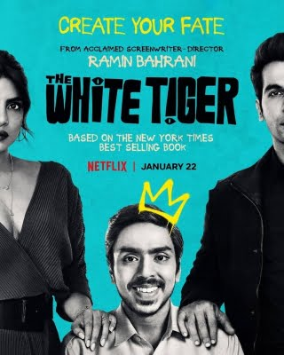 'The White Tiger' poster