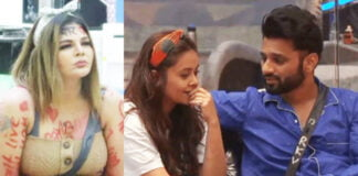 Bigg Boss 14 Rakhi Sawant plays cupid between Devoleena Bhattacharjee and Rahul Vaidya; Disha Parmar says 'Ladka demand mein hai'