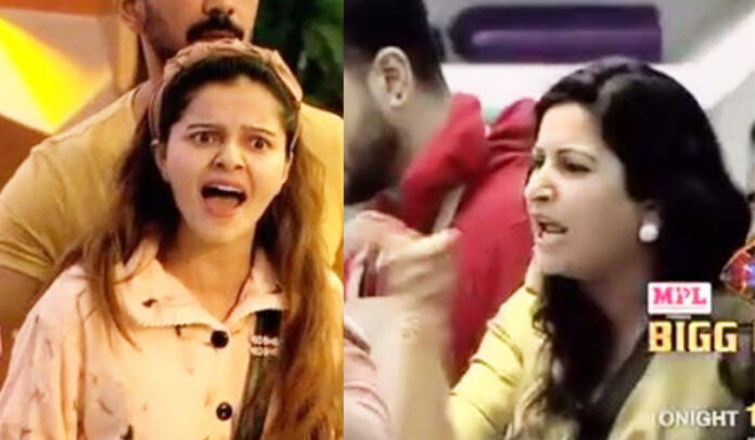 Bigg Boss 14 Rubina Dilaik and Sonali Phogat's major fight takes an ugly turn