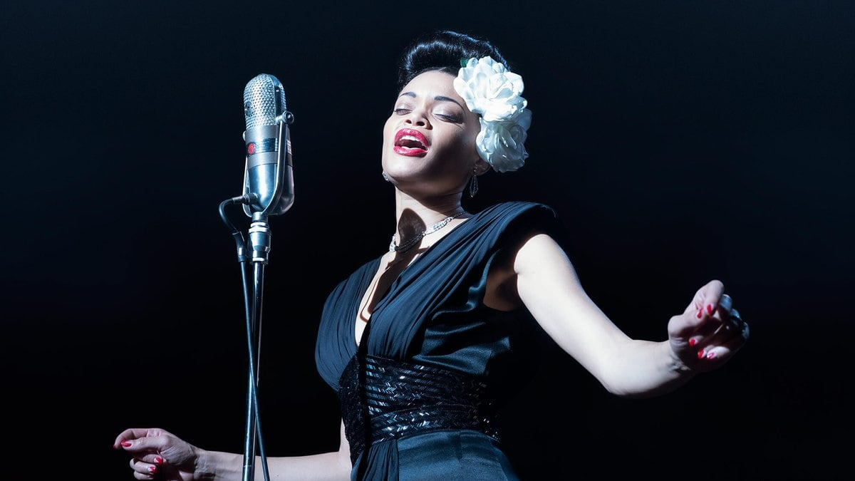 Andra Day goes through a phase of Billie Holiday's career