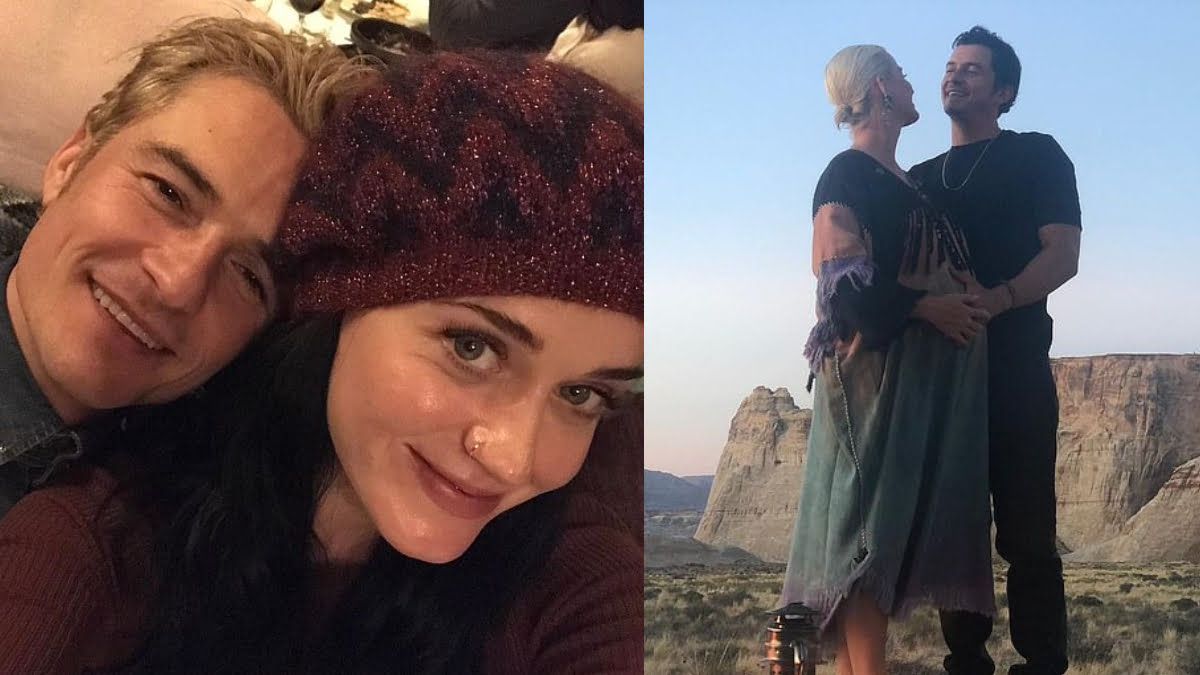 Katy Perry shares birthday message for fiance Orlando Bloom