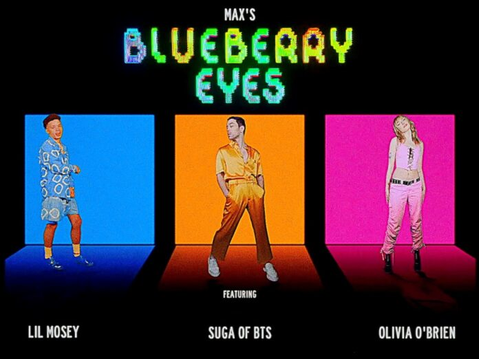 Max & Suga of BTS join forces with Lil Mosey & Olivia O'brien to remix 'blueberry eyes'