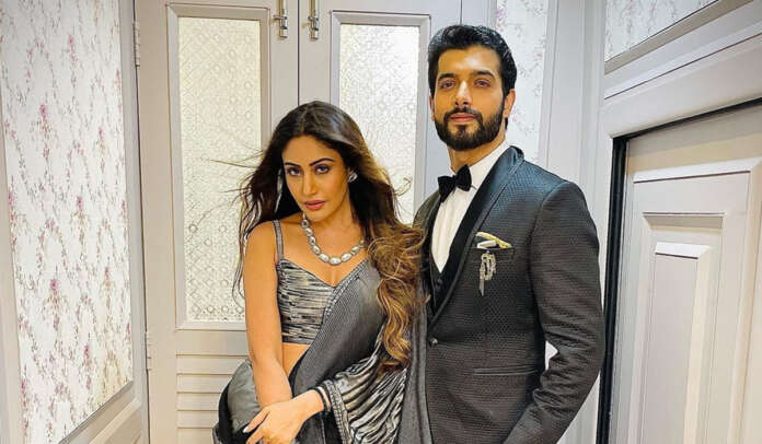 Naagin 5 Surbhi Chandna and Sharad Malhotra flaunt their stylish look