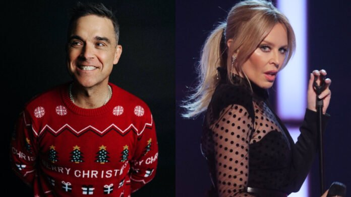 Robbie Williams to join forces with Kylie Minogue once again
