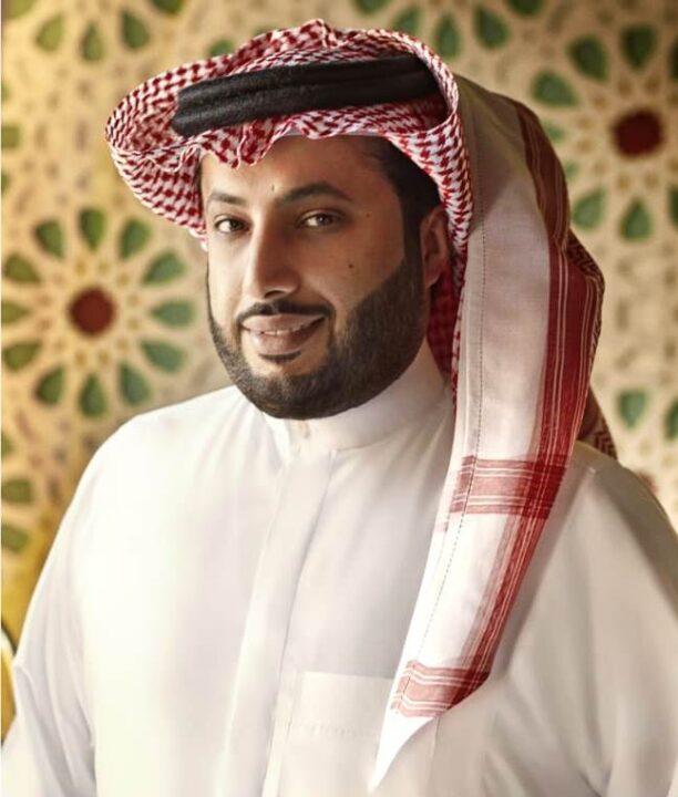 Rozam is the pen name of the poet & songwriter Turki Al-Sheikh from Saudi Arabia