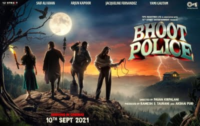 'Bhoot Police' Poster