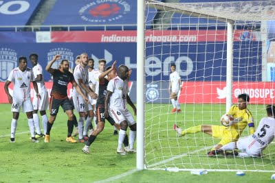 Gallego brace helps NorthEast hold Goa to 2-2 draw