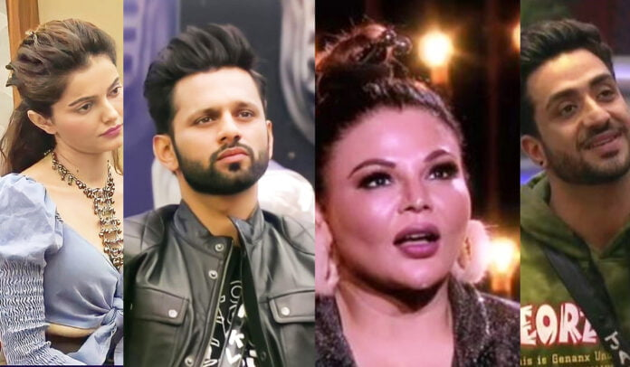 Bigg Boss 14 Rubina Dilaik, Rahul Vaidya, Rakhi Sawant and other housemates get emotional watching their journey