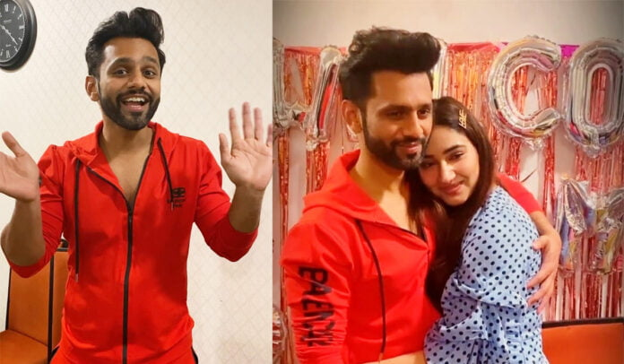 Bigg Boss 14's first runner-up Rahul Vaidya takes 'Pawri' challenge with Disha Parmar and friends