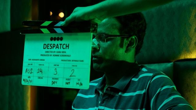Manoj Bajpayee starts shoot for 'Despatch'