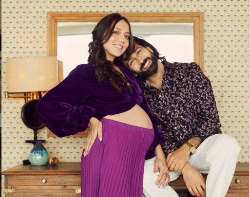 Nakuul Mehta and his singer wife, Jankee Pares