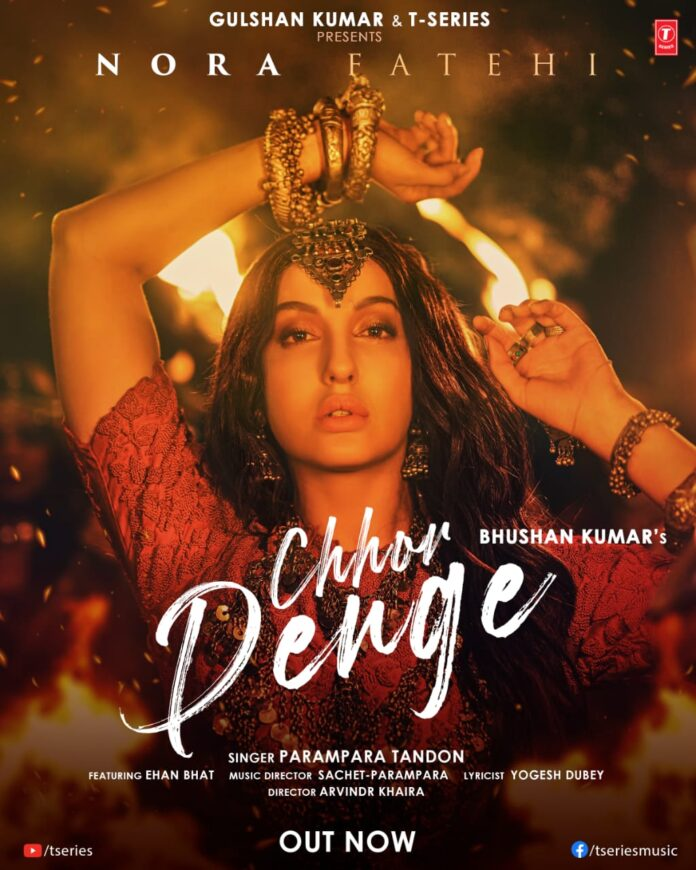 Out Now Nora Fatehi delivers a powerful performance in Bhushan Kumar's new single Chhor Denge