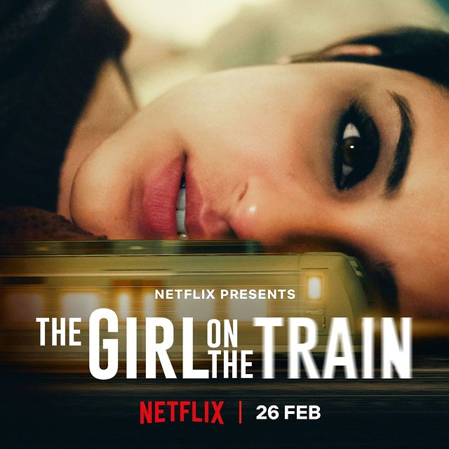Parineeti Chopra in 'The Girl On The Train' Poster | Netflix