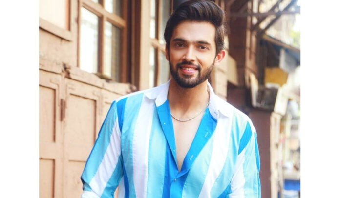 Parth Samthaan looking handsome in eazy breezy blue shirt and pants