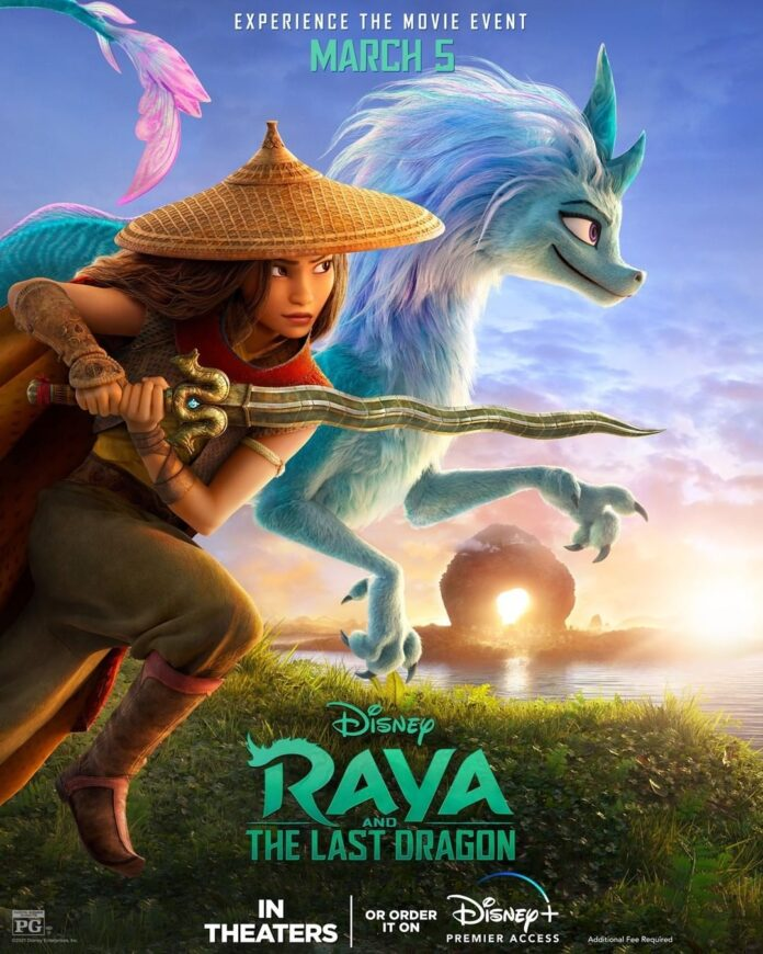 Disney's first Southeast Asia-centered animated film, Raya And The Last Dragon