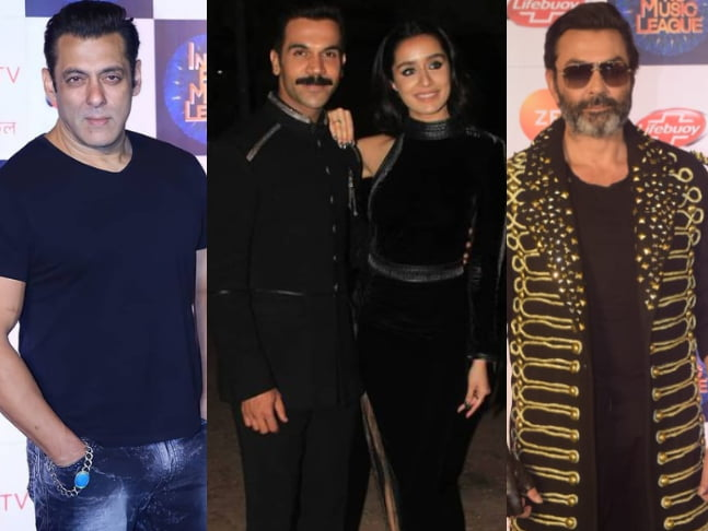 Salman, Shraddha, Rajkummar, Bobby and others shine bright on the red carpet at Zee TV's Indian Pro Music League Opening Ceremony