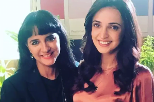 Sanaya Irani and Shruti Seth share lovely pictures from upcoming project