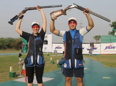 World Cup: India win rapid fire pistol mixed team gold (Ld)