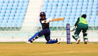3rd ODI: Punam's 77 leads India to 248/5
