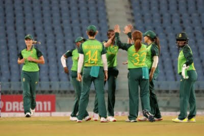 South African board lauds women's team on 'double' win vs India
