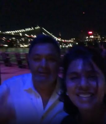 Neetu shares moments with Rishi Kapoor from their last trip