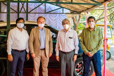 Solar powered EV charging station developed at IISc