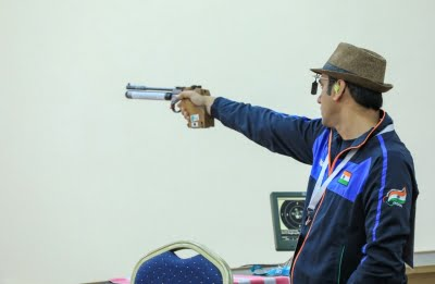 Singhraj clinches gold in para shooting WC