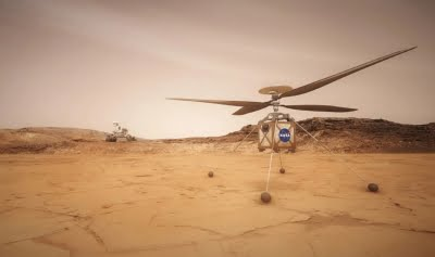 First historic Mars helicopter flight on April 8: NASA
