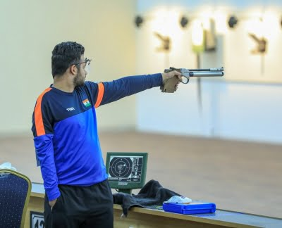 Narwal shoots second gold for India, sets world record