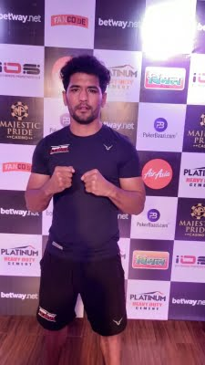 Welterweight pro boxing: Goyat knocks out Sandeep