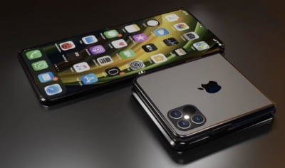 Foldable iPhone with 8-inch display in works