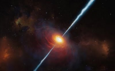 Astronomers discover most distant 'radio-loud' quasar
