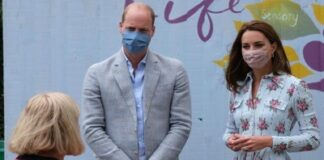 Prince William and his wife Duchess Catherine