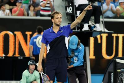 World No.2 'just gives me some energy', says Medvedev