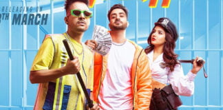 Aly Goni, Jasmin Bhasin and Tony Kakkar's swag look in Tera Suit poster