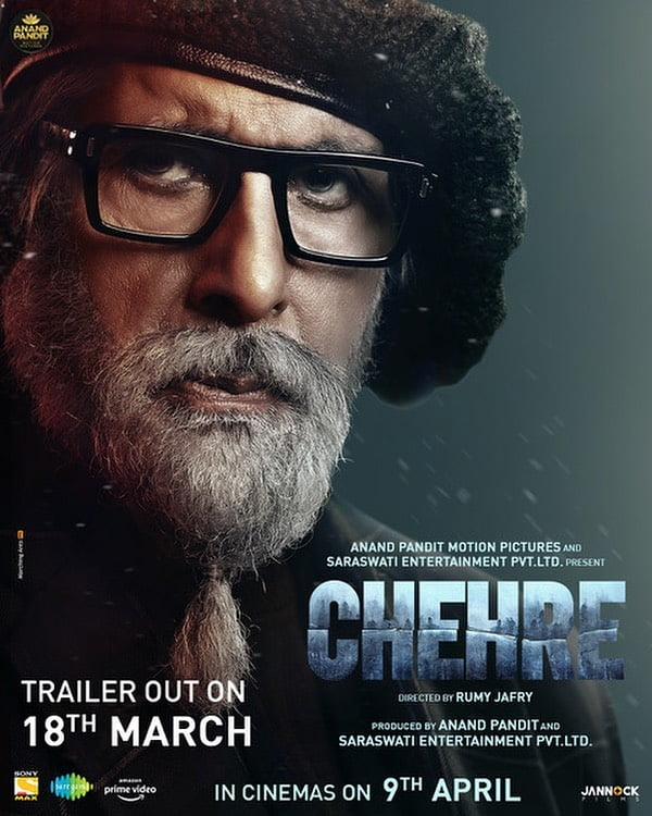 Amitabh Bachchan's official look in 'Chehre'