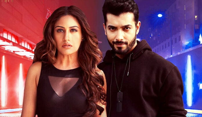 Bepanah Pyaar poster out Surbhi Chandna and Sharad Malhotra twinning in black and flaunting their sizzling chemistry
