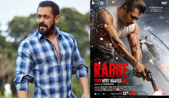 Fans rule over social media after the poster of Radhe Your Most Wanted Bhai was unveiled