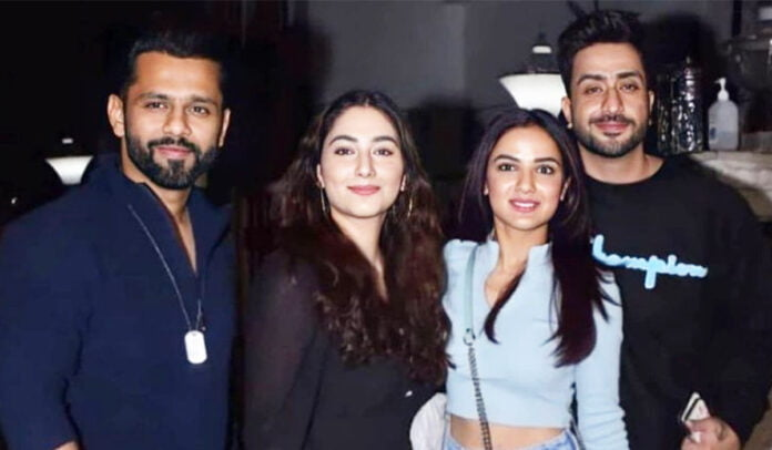 Jasmin Bhasin, Aly Goni and Rahul Vaidya, Disha Parmar step out for double date night