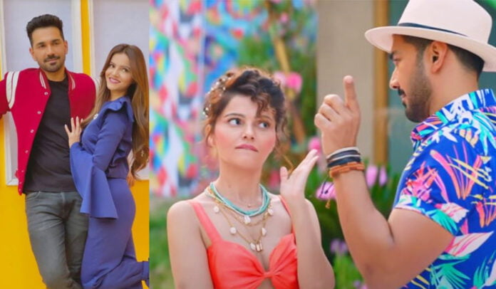 Marjaneya song out now Rubina Dilaik and Abhinav Shukla's poolside romance is a worth a watch