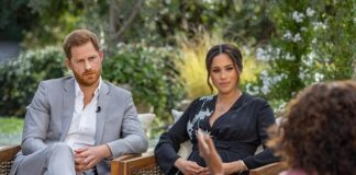 Prince Harry & Meghan Markle interview with Oprah Winfrey