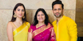 Rahul Vaidya shares a lovely post for Disha Parmar, his mother and sister