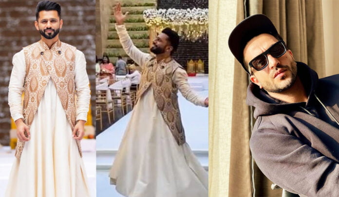 Rahul Vaidya slays in anarkali kurta and grooves on 'Khwaja mere Khwaja '; Aly Goni gives a sweetest comment on the video
