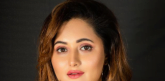 Rashami Desai looks stunning in yellow dress