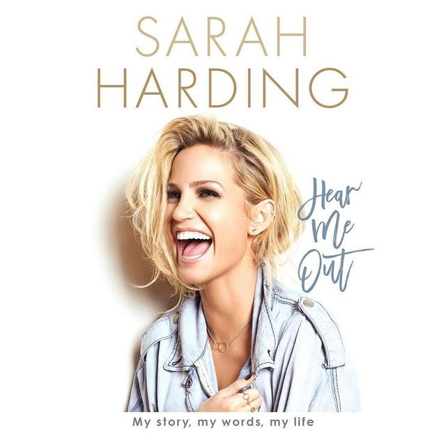 Sarah Harding writes about cancer battle in biography