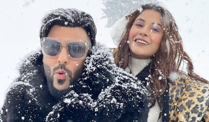Shehnaaz Gill and Badshah's new still from upcoming music video 'Fly'