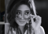 Shivangi Joshi glowing in monochrome picture