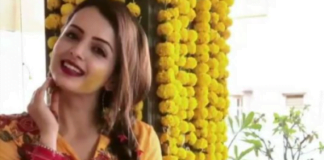 Shrenu Parikh looks stunning in yellow dress