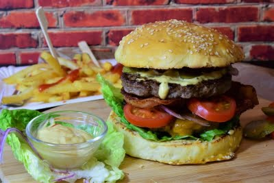 Low stress level linked to less fast food consumption