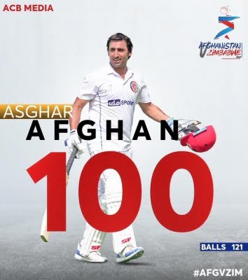 2nd Test: Afghan scores ton as Afghanistan dominate on Day 1